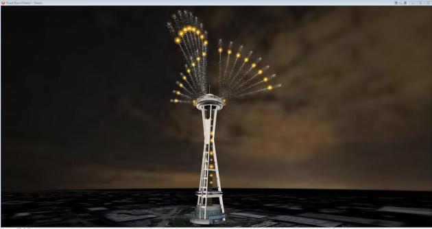 Space Needle 2016 Simulation