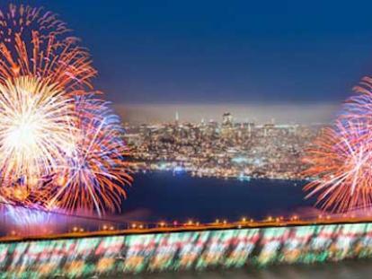 Golden Gate Bridge 75th. Anniversary Celebration