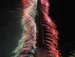 Burj Khalifa 2014 by Fireworks by Grucci